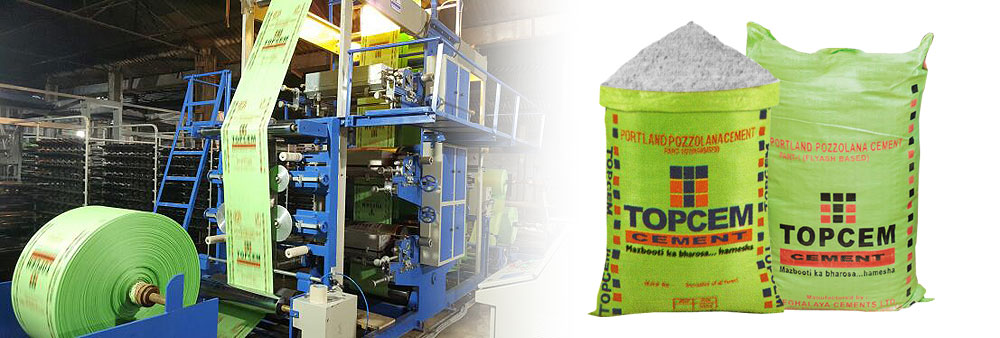 cement bags packaging